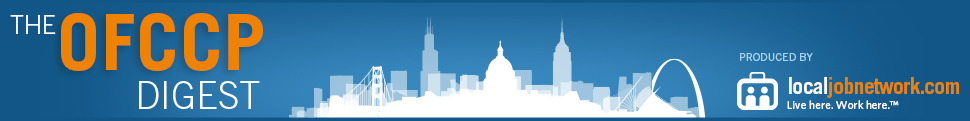The OFCCP Digest, produced by The LocalJobNetwork
